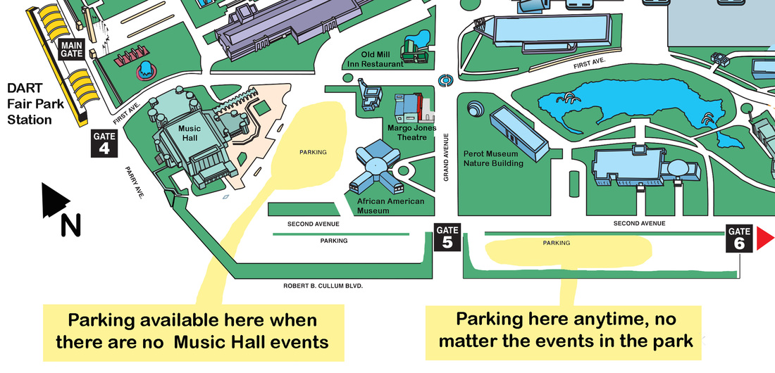 Directions Parking Margo Jones Theatre